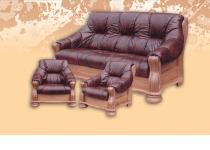 Мягкая мебель из натуральной кожи