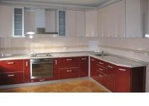 Кухонная мебель (мебель для кухни) с фасадами постформинг (пластик)