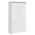 VIGO Шкаф 4D Белый глянец