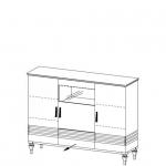 Бар TO-KB/D L,P TORINO (ТОРИНО) без подсветки*, мебель TARANKO