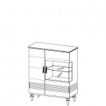 Бар TO-KB L,P TORINO (ТОРИНО) без подсветки*, мебель TARANKO