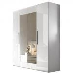 Шкаф 4-х дв. спальня HARMONI (ГАРМОНИ) мебель HELVETIA