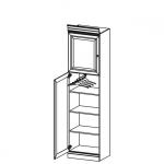 Шкаф BA-12 (L/P) система BARCELONA, мебель фабрики TARANKO