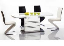 Стол GUCCI, МДФ, столешница - закаленное стекло (раскладной)