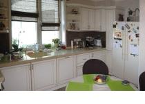 Кухня 14 нашего производства, фасады крашенные патинированные
