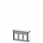 Комод BA-K3 система BARCELONA,мебель фабрики TARANKO