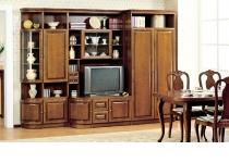 Стенка BERGANO II, мебель из дерева фабрики ТАРАНКО