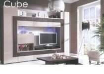 Стенка CUBE (КУБЕ) CU-1, без подсветки *, мебель ТАРАНКО