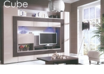 Стенка CUBE (КУБЕ) CU-2, без подсветки *, мебель ТАРАНКО