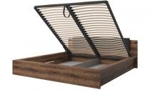 Кровать 160 INDIRA HELVETIA с подъемным механизмом без матраца