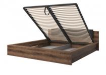 Кровать 180 INDIRA HELVETIA с подъемным механизмом без матраца