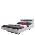 Кровать 160 без матраца спальня HEKTOR (ГЕКТОР) белая, HELVETIA