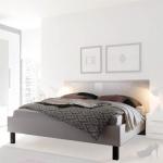 Кровать 160 без матраца спальня HARMONI (ГАРМОНИ) HELVETIA