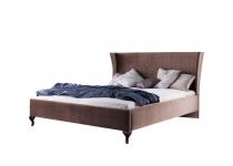 Кровать CL-1 140, обита тканью, без матраца, мебель ТАРАНКО