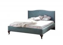 Кровать CL-2 160, обита тканью, без матраца, мебель ТАРАНКО