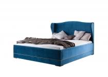 Кровать CL-3 140, обита тканью, без матраца, мебель ТАРАНКО