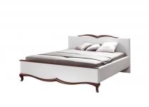 Кровать MI-3, обивка экокожа, без матраца MILANO, мебель ТАРАНКО