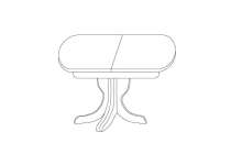 Стол обеденный Bergano мебель TARANKO
