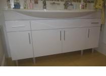 Набор 1 мебели в ванную комнату на заказ нашего производства