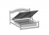 Контейнер с подъемным механизмом к кроватям 160 TARANKO
