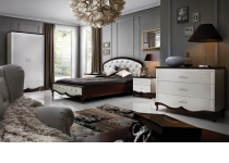 Примеры спальни MILANO (МИЛАНО) в интерьере, мебель ТАРАНКО