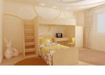 Пример мебель в детскую комнату АРТУР в интерьере