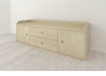 Тумба (комод) 2d2s, детская мебель АРТУР