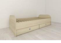 Кровать с ящиками 90, без матраца, детская мебель АРТУР