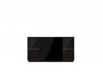 Витрина с ящиком и дверцами TOGO(ТОГО) 25 с подсветкой, HELVETIA