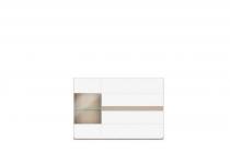 Комод-витрина SELENE (СЕЛЕНА) с подсветкой, мебель HELVETIA