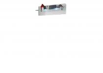 Полка навесная SELENE (СЕЛЕНА) с подсветкой, мебель HELVETIA