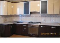 Кухня на заказ 2 нашего производства с фасадами постформинг