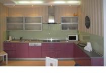 Кухня на заказ 2 нашего производства с пленочными фасадами