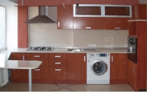 Кухня на заказ 4 нашего производства с пленочными фасадами