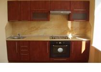 Кухня на заказ 6 нашего производства с пленочными фасадами