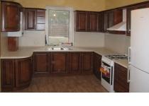 Кухня на заказ 11 нашего производства с пленочными фасадами