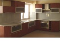 Кухня на заказ 12 нашего производства с пленочными фасадами