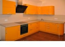Кухня на заказ 2 нашего производства с крашенными фасадами