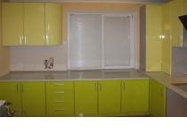 Кухня на заказ 9 нашего производства с фасадами постформинг