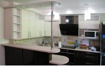 Кухня на заказ 15 нашего производства с пленочными фасадами