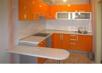 Кухня на заказ 10 нашего производства с фасадами постформинг