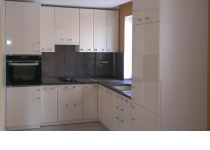 Кухня на заказ 11 нашего производства с фасадами постформинг
