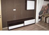 Мебель на заказ для жилой комнаты 6 нашего производства