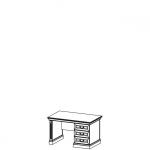 Стол письменный BA-M система BARCELONA, мебель фабрики TARANKO