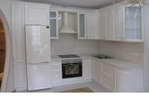 Кухня на заказ 21 нашего производства с фасадами МДФ окрашенный