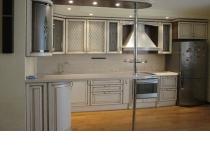 Кухня на заказ 24 нашего производства с крашенными фасадами