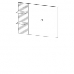 Панель ТВ TO-Panel TORINO (ТОРИНО), мебель TARANKO (ТАРАНКО)