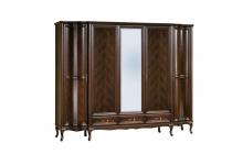Шкаф пятидверный W-5D спальня WERSAL, мебель TARANKO