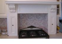 Кухня на заказ 22 нашего производства с деревянными фасадами