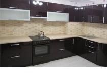 Кухня на заказ 14 нашего производства с фасадами постформинг